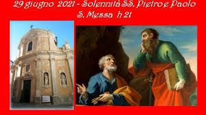 S. MESSA 29 giugno 2021 - Diretta ore 21 - YouTube