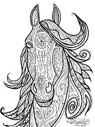 Printable Coloring Pages Horses Color Pages Horses Printable