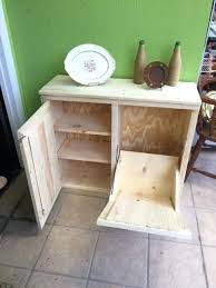 double wooden trash bin double handcrafted primitive rustic pine wood trash can cabinet double wooden garbage