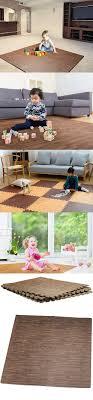 hemingweigh printed wood grain interlocking foam anti fatigue floor puzzle mats makes a superior fitness