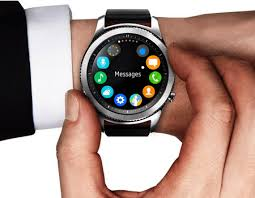 samsung watch gear s3. samsung gear s3 classic smart watch