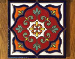 6X6 Decorative Ceramic Tile Southwestern tile Etsy 98