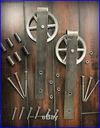 vine clic sliding barn door hardware made in the usa 100 quality steel