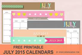 Calendar June July 2015 8 Lovely July 2015 Calendars