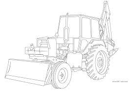 Bulldozer Pelle M Canique 44 Transport Coloriages Imprimer