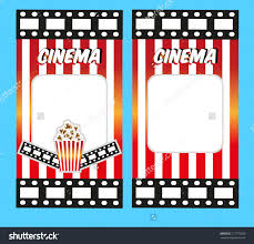 Movie Ticket Invitation Template Free - Chamunesco.com