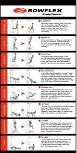 Pull Up Workout Chart Best Power Tower Exercises And Workout Routine