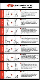 power tower workout routine source bowflex