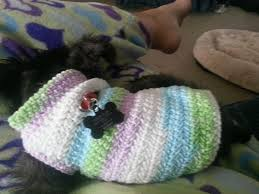 Free Crochet Dog Sweater Patterns Best Free Dog Sweater Crochet Pattern THIS LOOKS LIKE IT WILL FIT
