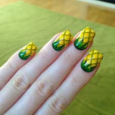 Summer Nail Designs 2014 10 Beautiful Simple But Cute Acrylic Nail Designs