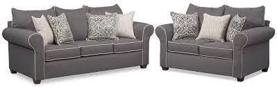 carla queen memory foam sleeper sofa and loveseat set gray value within sleeper sofa and loveseat set for fantasy