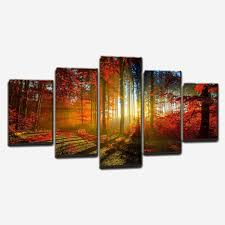 aliexpress hand painted 4 piece wall art multi panel pertaining to multiple canvas wall art decorating