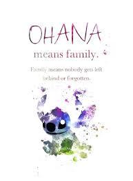 Ohana Means Family Quote Custom Stitch Family Quote Formidable 48 Lilo Stitch Ohana Means Family