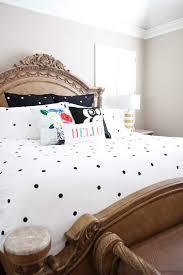 Kate Spade Bedding Kate Spade Deco Dot Black White Twin Twin Xl Dorm Comforter Sham