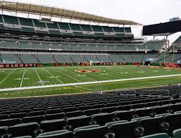 Paul Brown Stadium Section 142 Seat Views Seatgeek