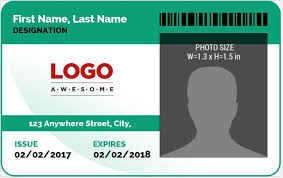 Word Badge Template Ms Word Photo Id Badge Sample Template Word Excel Templates