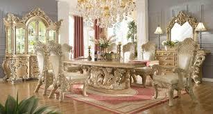 European Dining Room Sets  Cteamus - Formal round dining room sets