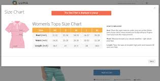 Top 10 Magento 2 Size Chart Extensions Free And Paid Bss