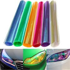 Car Light Film 30x120cm Chameleon Car Light Film Headlight Tail Cover Tint Change Sticker