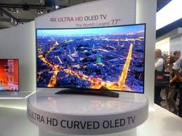 sony tv 4k oled. we\u0027ve seen 4k oleds before from sony and panasonic samsung also has a uhd oled panel on display at the exhibition. tv 4k oled x