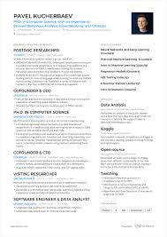 One Page Resume Example Inspiration A Powerful One Page Resume Example You Can Use
