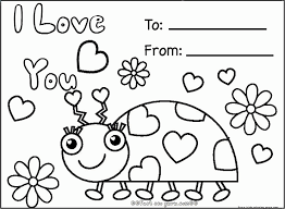 These printable valentine cards will be perfect for any one of your friends or family members this valentine's day. Coloring Pages For Valentines Day Cards Coloring Home