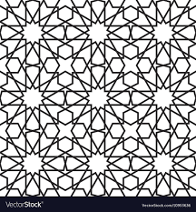 Morrocan Pattern Best Moroccan Stars Seamless Pattern Royalty Free Vector Image