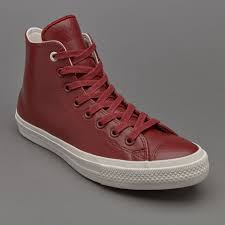 converse 2 mens. mens shoes - converse chuck taylor all star ii hi mesh backed leather red block 2