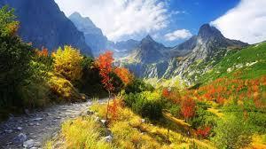 autumn mountains backgrounds. Autumn Mountains Desktop Wallpapers Backgrounds D