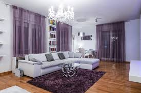 Purple And White Living Room Nakicphotography