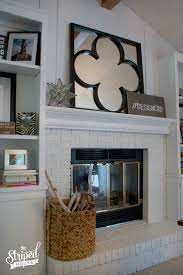 Fireplace Built Ins Fireplace Built Ins Makeover The Striped House