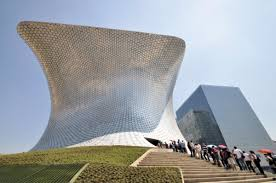 Soumaya Museum Mexico City 600x398 10 Futuristic Museums of Contemporary Art  around the World