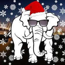 christmas elephant clip art.  Christmas White Elephant Christmas Clipart Inside Christmas Elephant Clip Art P