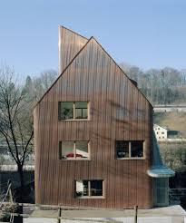 Jomini Zimmermann Faraday House Bern Houses Metallfassade