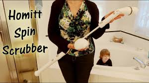 homitt electric spin scrubber bathroom brush cordless power cleaning review