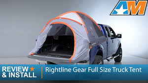 1997-2016 F-150 Rightline Gear Full Size Truck Tent Review & Install