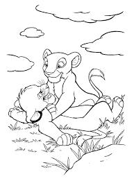 Lion King Vind En Print Bliksemsnel Een Kleurplaat Ukkonl