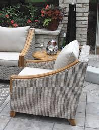vineyard teak wicker chair