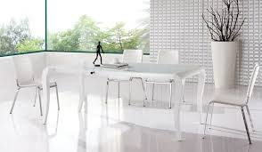modern white dining table. stunning white contemporary dining room sets 8 kitchen table modern roselawnlutheran s