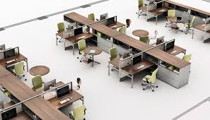 knoll for canadian federeal government office arrangements70 office