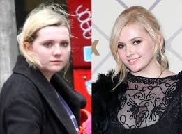celebrities without makeup abigail breslin
