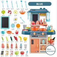 Bộ đồ chơi nhà bếp trẻ em, đồ chơi nhà bếp giả vờ trẻ em, trò