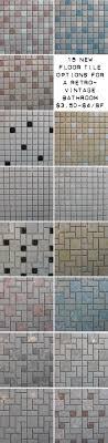 retro mosaic flooring