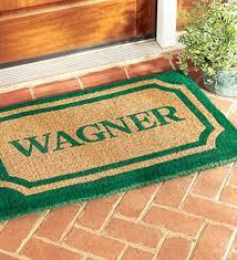 Personalized Doormat   Doormats & Boot Trays   Deck & Patio Décor ...