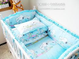baby sheet sets 100 quality bedding sets sky blue snoopy crib product suite baby