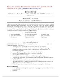 Pharmacist Resume Sample Resume Work Template
