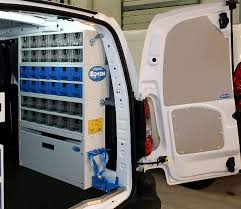 berlingo right hand side racking solution for heating cooling systems