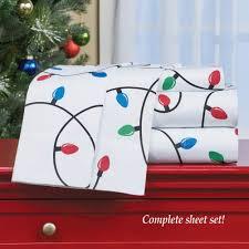 Christmas Lights Sheet Set Amazon Com Winston Inc Holiday Christmas Lights On This