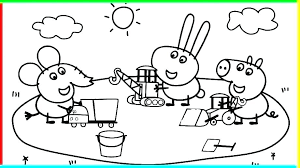 Peppa Pig Coloring Pages Pig Print Pig Coloring Pages Book Copy