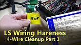lsx swap harness how to simple & free diy standalone on the test  at Coolmike Ls Wire Harness